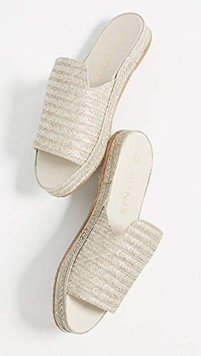 Woven Slide Martinique Grey Women's KAANAS Sandal Pool IwBxEIq0