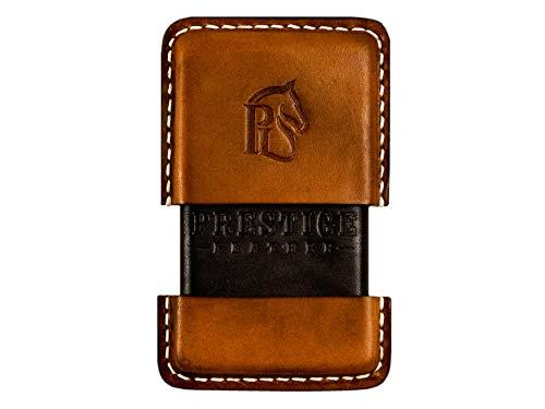 (Luxury Leather Cigarette Case Holder Pack - Pocket Carrying - Elegant Gift for Men - Vintage Leather)