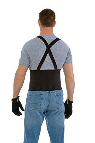 Cordova SB-M Back Support Belt with Attached Suspenders, Black, Medium by Cordova (Image #1)