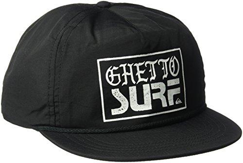 (Quiksilver Men's Ghetto Surf Cap Hat, Black, One Size)