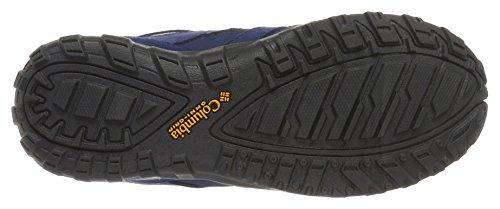 ColumbiaYouth Redmond Waterproof - Zapatillas de running para chico Azul (Stream, Super Solarize)