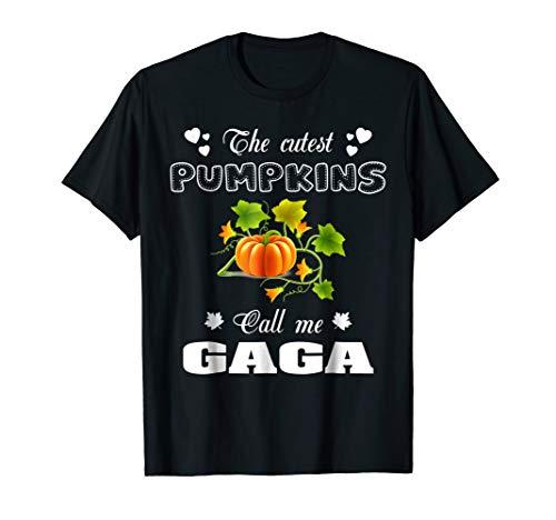 The cutest pumpkins call me Gaga T-Shirt