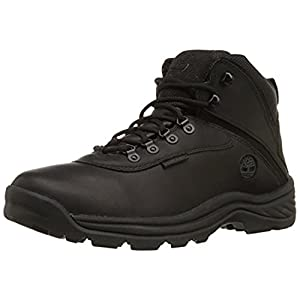 Timberland Men's White Ledge Mid Waterproof Hiking Boots Black 15 M & Cap