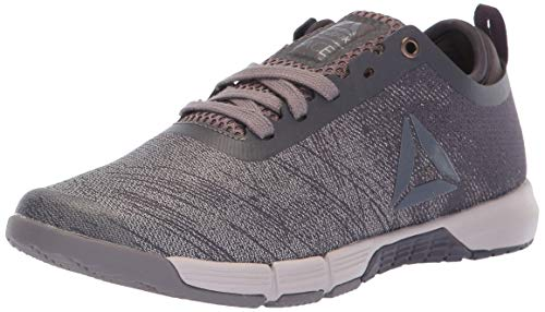 (Reebok Women's Speed Her TR Cross Trainer, face-Almost Grey/Smokyvolc, 10 M US)