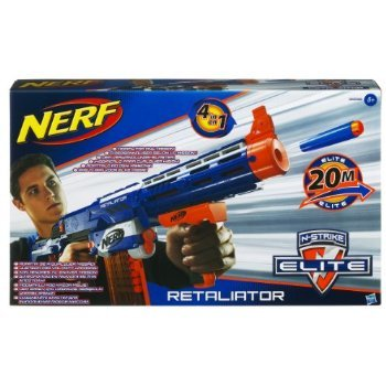 2 X Nerf N-Strike Elite Retaliator Blaster