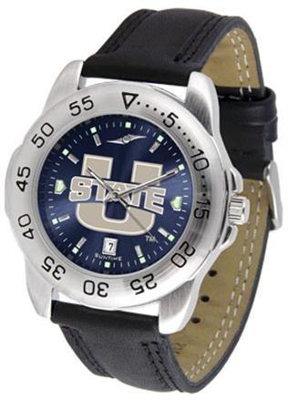 (Linkswalker Mens Utah State University Aggies Sport Anochrome Watch)