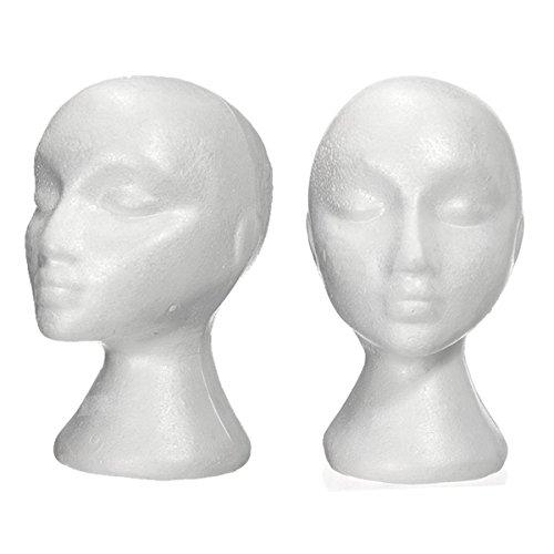 foam bald mannequin head - 4