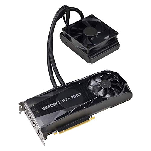 Evga Geforce Rtx 2080 Xc Hybrid Gaming 8gb Gddr6 Hybrid Rgb Led Logo Blackplate De Metal Placa De Video 08g P4 2184 Kr