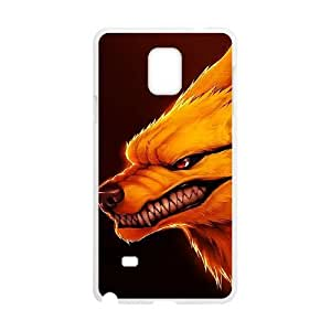 Samsung Galaxy Note 4 White Cell Phone Case Naruto TGKG597886