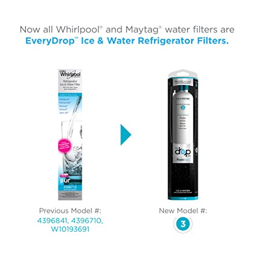 Whirlpool EDR3RXD1 EveryDrop by Refrigerator Water Filter 3 (Pack of 1) by EveryDrop by Whirlpool (Image #2)