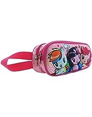 My Little Pony 01535-14G Cutie Mark Crew 3D Double Zipper Pencil Case, Pink
