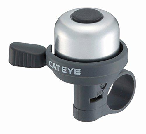 Cat Eye Fahrradklingel OH 1000 silber/schwarz