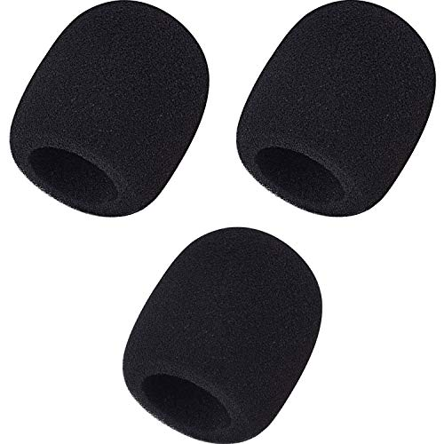 Mudder 3 Pack Foam Mic Cover Handheld Microphone Windscreen (3 Pack)