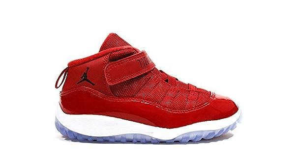 f684698307d962 NIKE Jordan 11 Retro BT Toddler s Shoes Gym Red Black White 378040-623 (4 M  US)