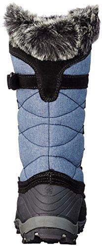 Kamik Kvinna Snowvalley Snö Boot Blå Jeans