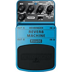 BEHRINGER REVERB MACHINE RV600