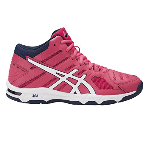 Asics Gel-Beyond 5 Mt, Zapatos de Voleibol para Mujer Rojo (Rouge Red/white/indigo Blue)