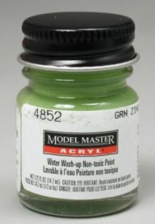 Testors Model Master Acrylic Green Zinc Chromate