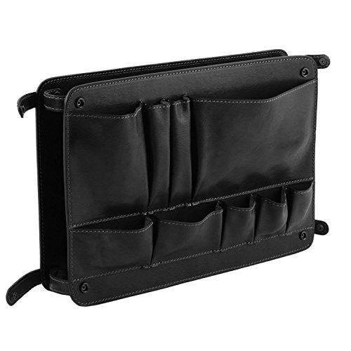 avec Module Noir Tuscany TL multifonction Smart poches Leather cuir Module en B8aW68