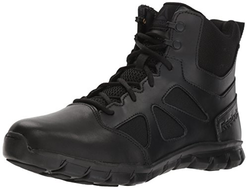 Reebok Men's Sublite Cushion Tactical RB8605 Military & Tactical Boot, Black, 9 W US