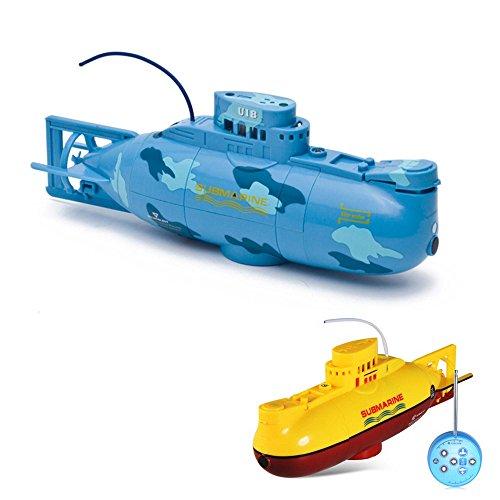 6-Kanal mini RC ferngesteuertes U-Boot Submarine, Komplett-Set inkl. integr. Akku, Ladegerät, Fernsteuerung