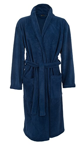 Mens Fleece Robe John Christian