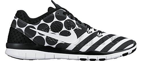 Nike Wmns nke Free 5.0TR Fit 5PRT–Black/White