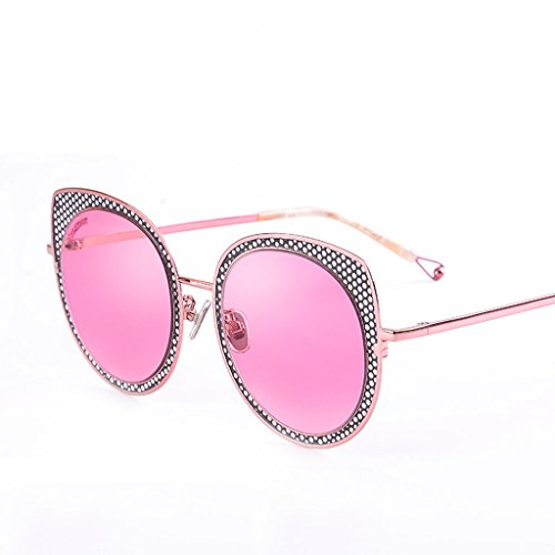 Gato de A Color sol Hueco Moda de Marco de de X666 Ojo Gafas A Gafas Gafas sol Retro Gafas aTfwPnBxf