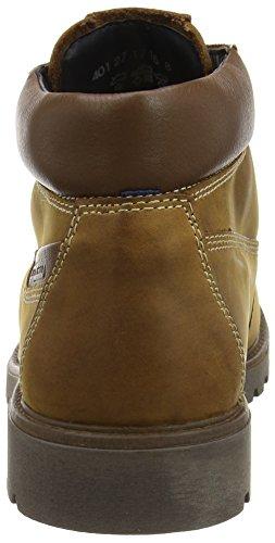 camel active Outback GTX 27 - botas de cuero hombre amarillo - Gelb (cinnamon/bison)