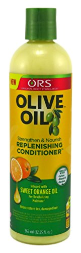 Replenishing Conditioner - Ors Olive Oil Conditioner Replenishing 12.25 Ounce (362ml) (2 Pack)