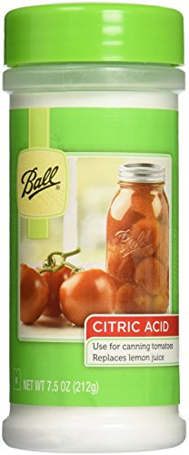 Ball Jar Citric Acid, 7.5-Ounce -