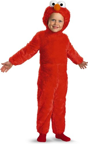 Elmo Costume - Toddler 3T-4T -