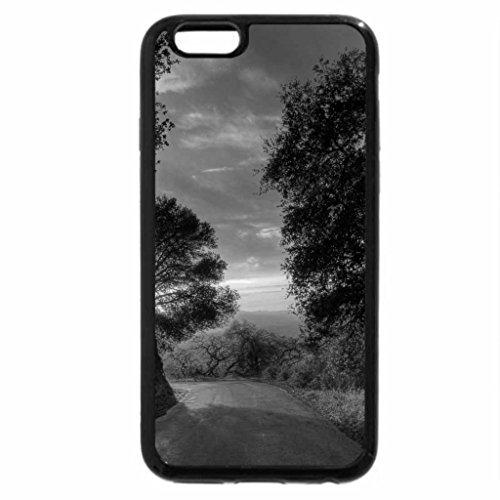 iPhone 6S Case, iPhone 6 Case (Black & White) - Follow the sun