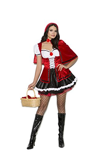 Red Hot Little Red Riding Hood Role Play Costume (Large)