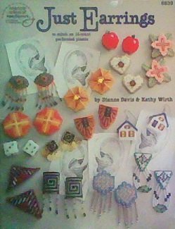 Just Earrings: To Stitch on 14-count Perforated Plastic, American School of Needlework No. 8839 by Kathy Wirth (1994-05-03)