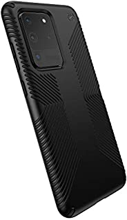 Speck Products Presidio Grip Samsung Galaxy S20 Ultra Case, Black/Black (136381-1050)