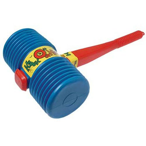 US Toy One Giant Squeaky Circus Carnival Clown Hammer, Assorted Color -