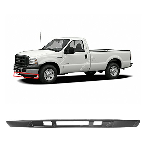 MBI AUTO - Textured, Black Front Bumper Lower Deflector Valance for 2005-2007 Ford F250 F350 Super Duty 05-07, FO1095219 (Super Duty Valance)
