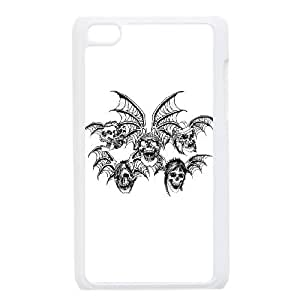 iPod Touch 4 Case White Avenged Sevenfold MIP Generic Phone Case For Boys