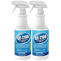 Syntec - Ready to Use Spray & Wipe Disinfectant - GC-2100-32oz Spray Bottle (2 Pack)