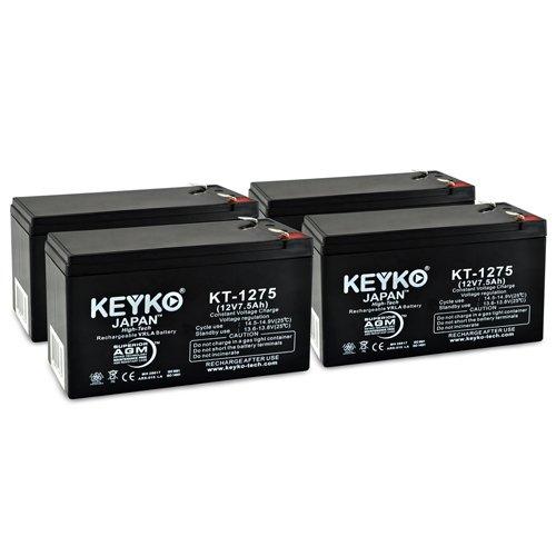 Mongoose M200 12V 7.5Ah / REAL 7.5 Amp SLA Sealed Lead Ac...