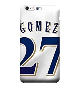 Allan Diy iPhone 5c case covers, MLB - Milwaukee Brewers Carlos Gomez #27 - iPhone 5c case covers - High Quality FZAM5nMS5bM PC case cover