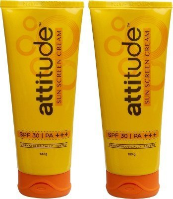 Amway Attitude Sunscreen Cream (100 g X 2 = 200 Gm)