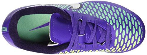 Nike Jr Magista Onda Fg, Zapatillas de Deporte para Niñas Morado / Plateado (Hypr Grp / Mtllc Slvr-Prpl Dynst)