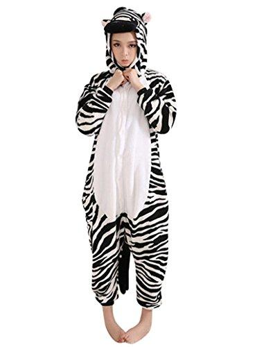Kigurumi a per Oh Blu Asinello Unisex Pigiama tuta Colore Zebra animali Pajama Ih Costume xHXq0