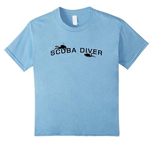 Kids Scuba Diving T-Shirt 6 Baby Blue