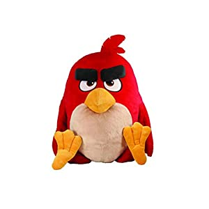 "Angry Birds Movie 22"" Jumbo Talking Feature Plush - Red - 41kkNSCuvnL - Angry Birds Movie 22″ Jumbo Talking Feature Plush – Red"