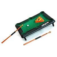 HAB & GUT (FB004) Mini Billardspiel DESKTOP, 21x15cm Snooker Poolbillard...