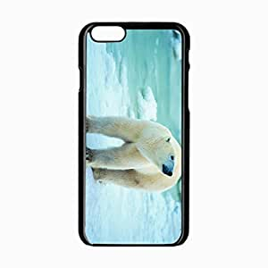 iPhone 6 Black Hardshell Case 4.7inch polar snow walk antarctica Desin Images Protector Back Cover by ruishername
