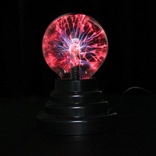 USB Plasma Ball Sphere Lightning Light Magic Crystal Lamp Globe Laptop A perfect decoration for homes, parties, cafe, bars & restaurants etc. (Big Rig Radio Antenna)